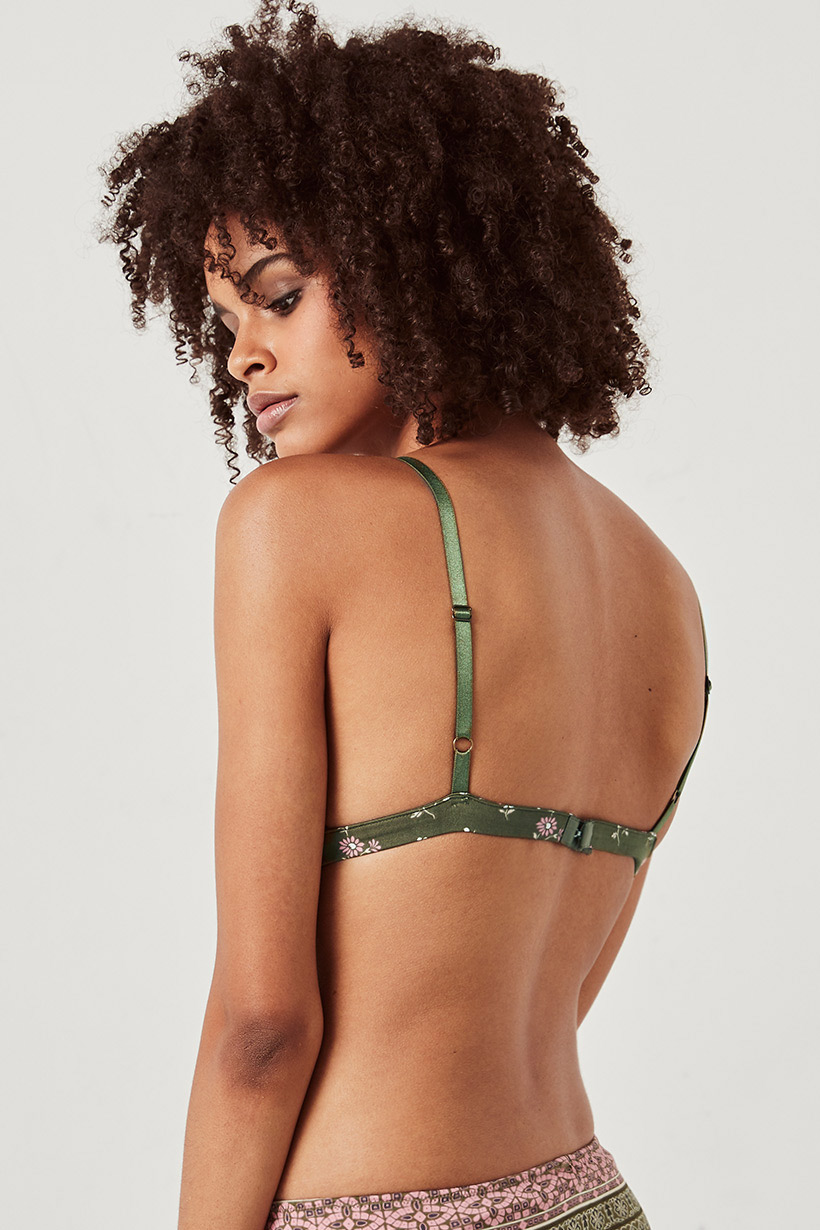 d295262812d69 Lionheart Soft Tri Bralette olive grove by SPELL   THE GYPSY ...