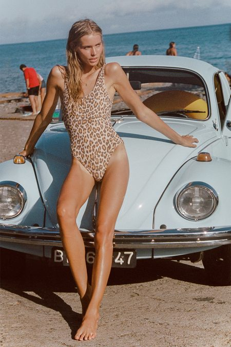 Jane One Piece leopard von SPELL & THE GYPSY COLLECTIVE