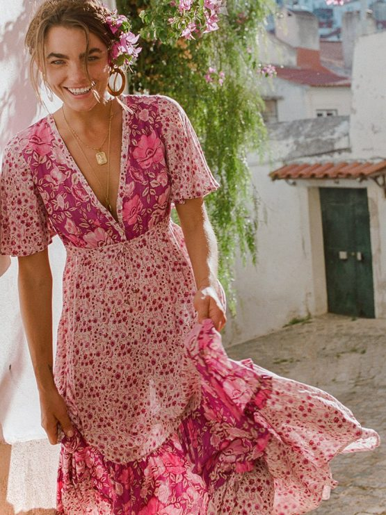 Winona Gown berry by SPELL & THE GYPSY COLLECTIVE - Woodybunch