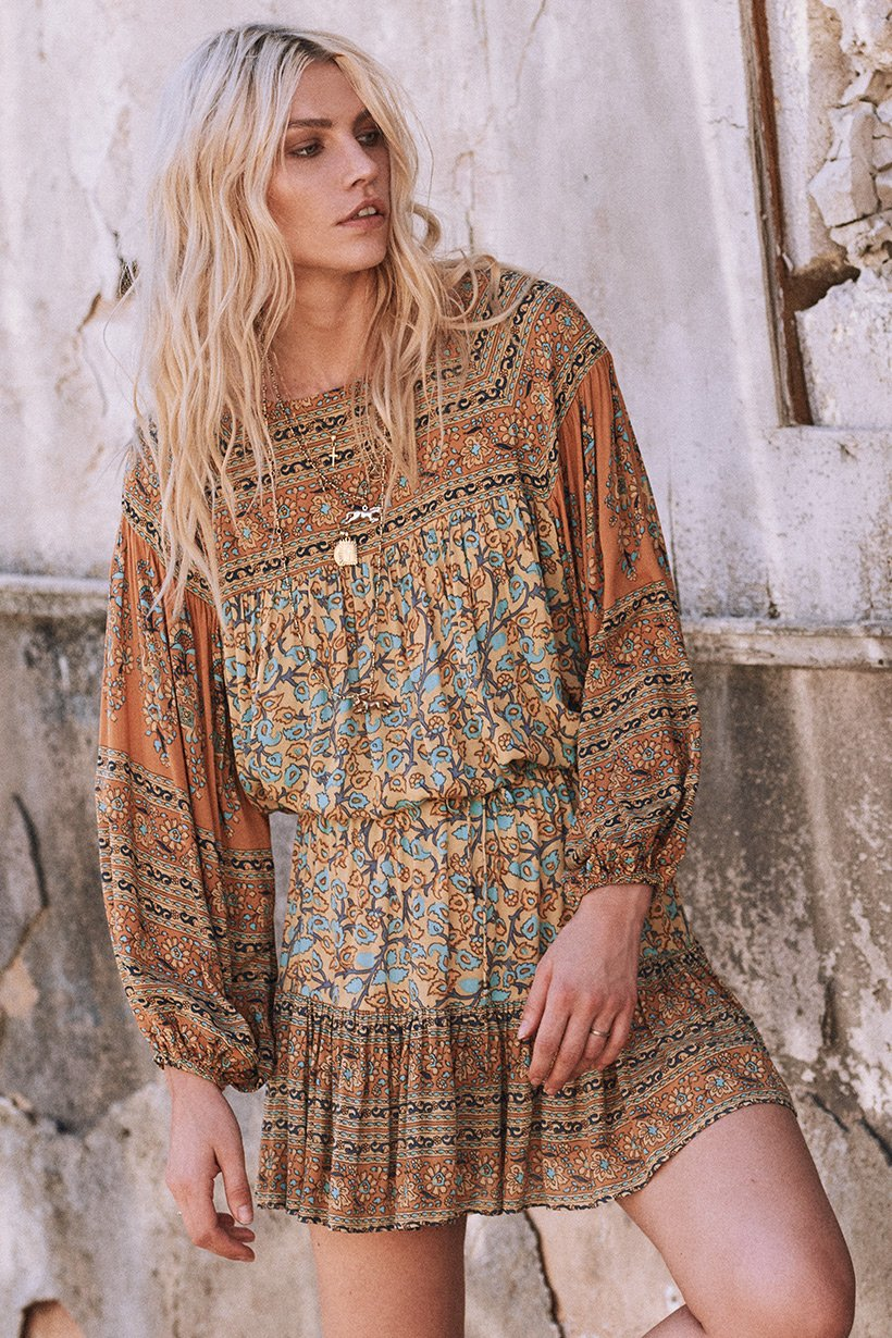 718719548a01 Delirium Blouse gold by SPELL   THE GYPSY COLLECTIVE - Woodybunch