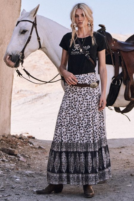 Delirium Maxi Skirt cream by SPELL & THE GYPSY COLLECTIVE
