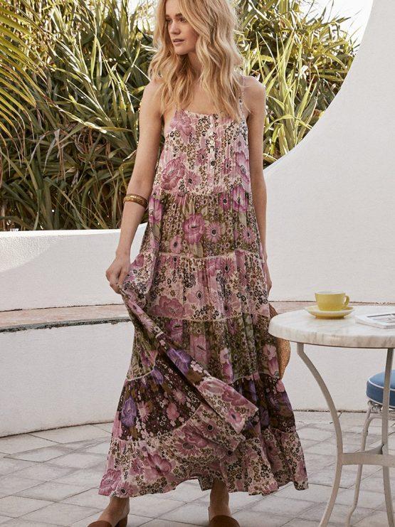 3e10d6d8a9b Desert Daisy Maxi Sundress lilac by SPELL   THE GYPSY COLLECTIVE ...