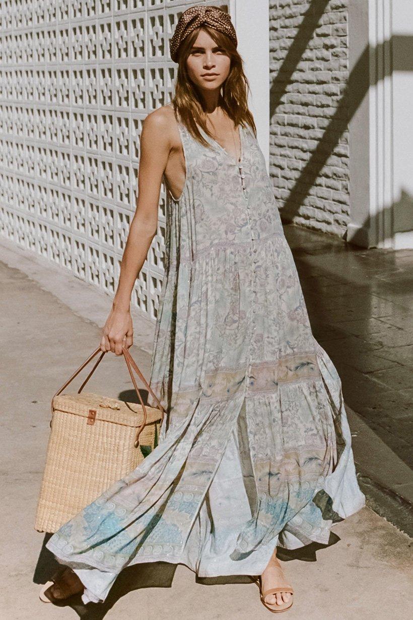 oasis floral maxi kleid online shop b7a48 ccc60