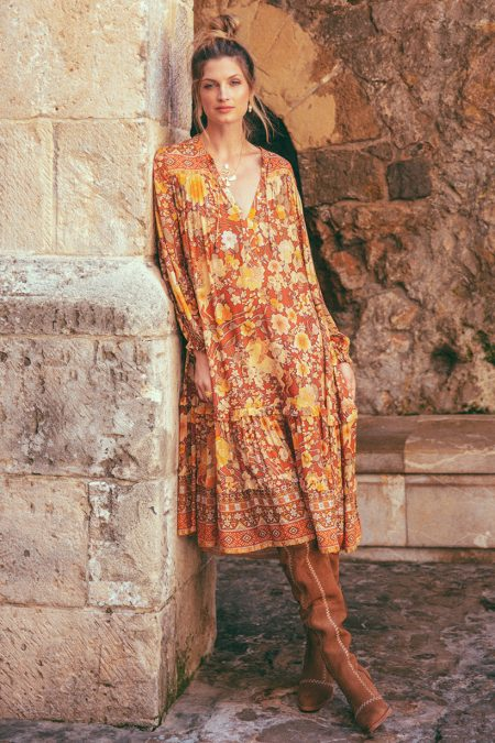 Amethyst Boho Dress amber von SPELL & THE GYPSY COLLECTIVE
