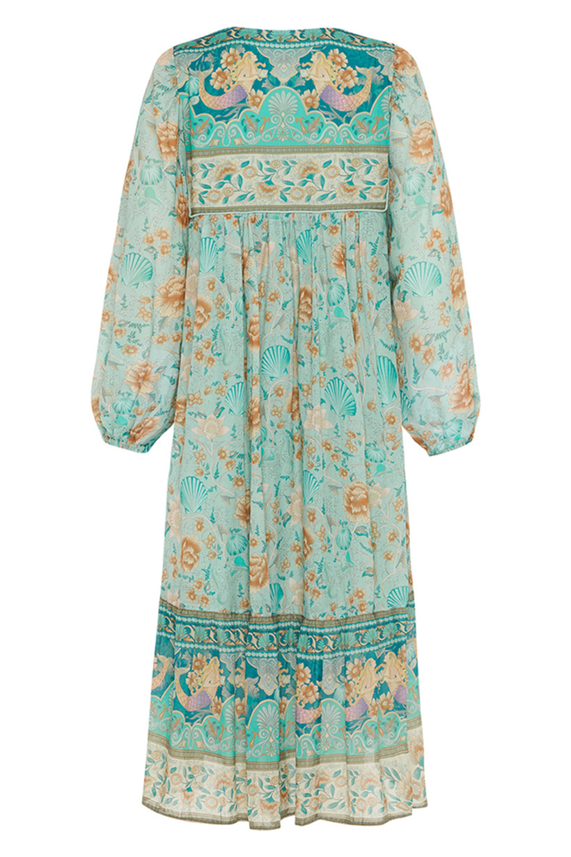 Leuchtend Abstrakt Design Top Kaftan Freie größe Damen-bluse T-Shirt Poncho