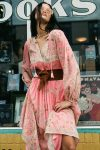 Hendrix Boho Dress dusty pink
