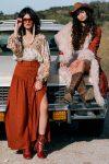 Spell Rani Maxi Skirt copper